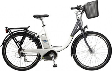 electric bike peugeot